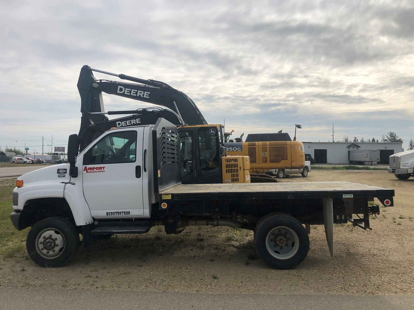 Used, 2008, Chevrolet, C5500, Cab / Chassis Trucks