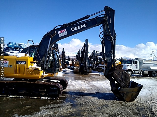 Used, 2014, John Deere Construction, 130G, Excavators