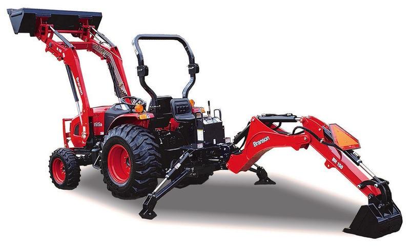 New, 2021, Branson Tractors, Branson 2515H  Loader/Backhoe, Tractors