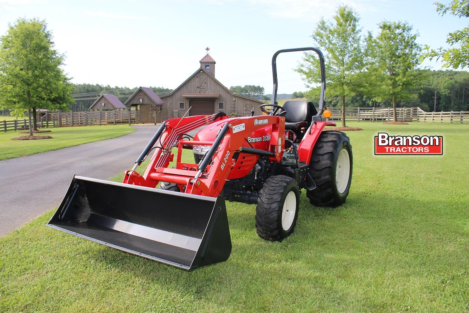 New, 2018, Branson Tractors, 3515h, Tractors