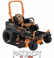 New, 2019, Scag, SPZ61-25CV Patriot, Lawn Mowers - Riding