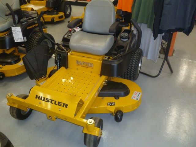 New, Hustler Turf Equipment, Raptor® 52 in. Limited, Lawn Mowers