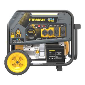 New, Other, Firman H05751 Dual Fuel LP/Gas, Generators