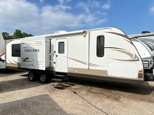 Used, 2013, Jayco, White Hawk 30DSRE, Travel Trailers