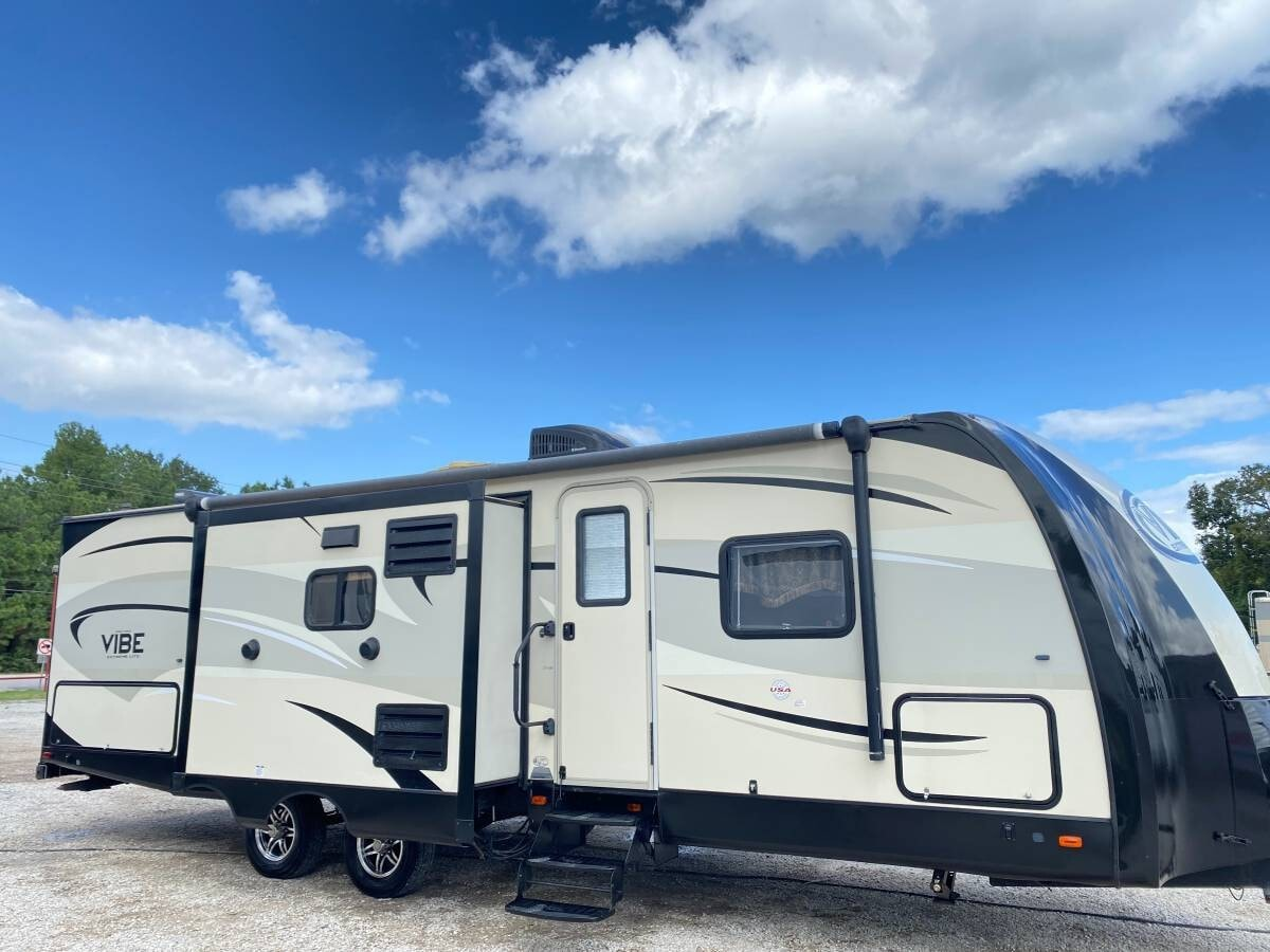 Used, 2016, Forest River, Vibe 279RBS, Travel Trailers