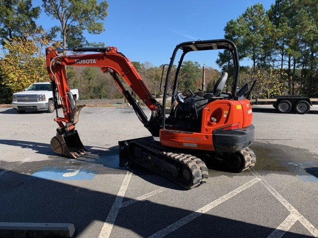Used, 2018, Kubota, KX040-4R1, Excavators