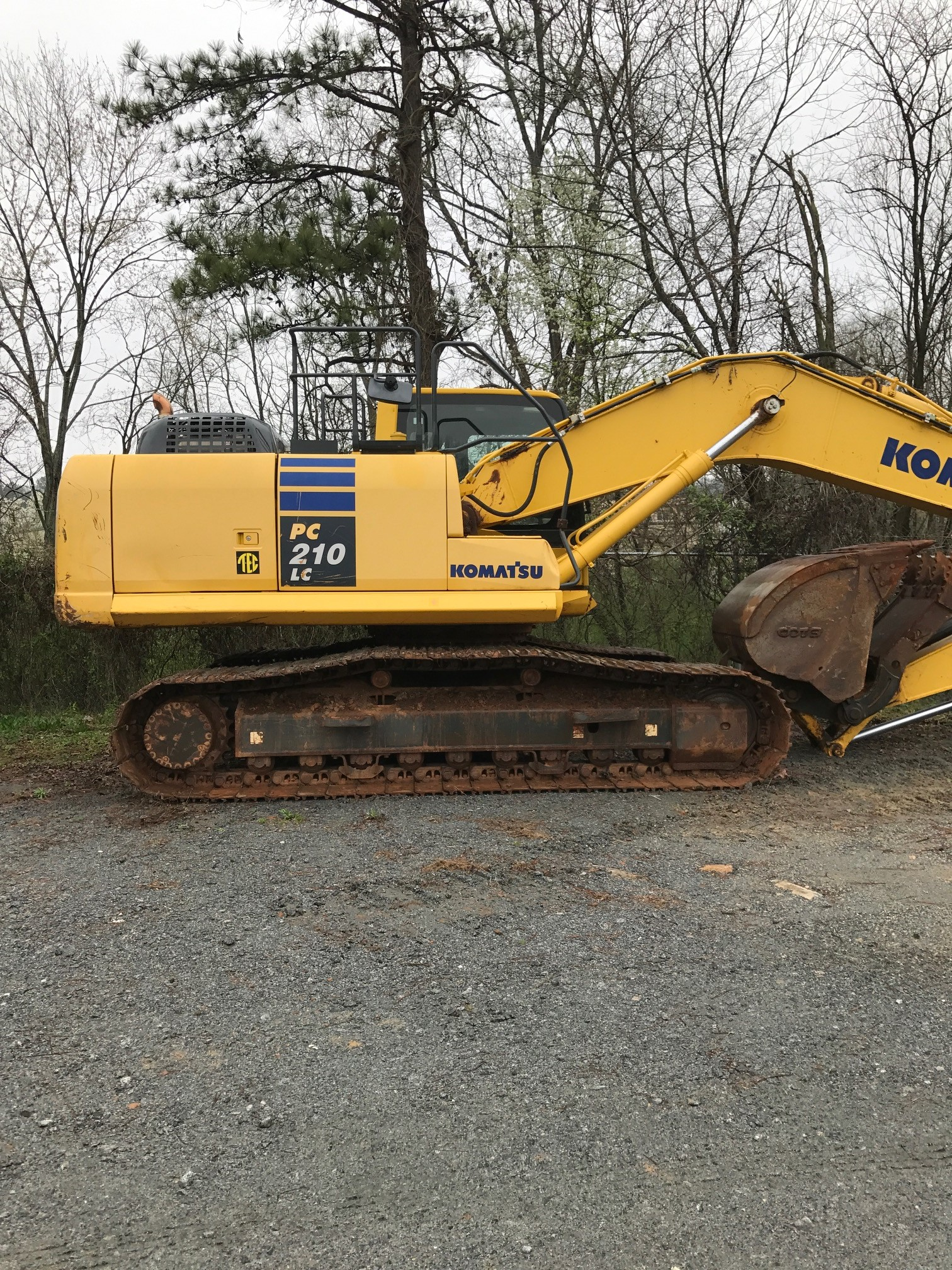 Used, 2014, Komatsu, PC210LC-10, Excavators
