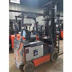 Used, 2014, Toyota Industrial Equipment, 8FBCHU25, Forklifts / Lift Trucks