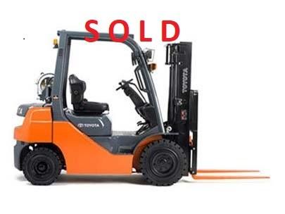 Used, 2014, Toyota Industrial Equipment, 8FGU25, Forklifts / Lift Trucks
