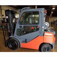 Used, 2013, Toyota Industrial Equipment, 8FGU25, Forklifts / Lift Trucks