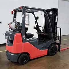 Used, 2013, Toyota Industrial Equipment, 8FGCU25, Forklifts / Lift Trucks