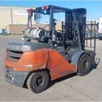 Used, 2016, Toyota Industrial Equipment, 8FG45U, Forklifts / Lift Trucks