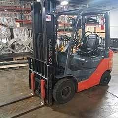 Used, 2014, Toyota Industrial Equipment, 8FGCU32, Forklifts / Lift Trucks