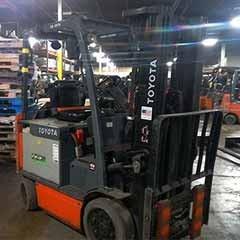 Used, 2014, Toyota Industrial Equipment, 8FBCU25, Forklifts / Lift Trucks