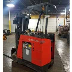 Used, 2014, Toyota Industrial Equipment, 7BNCU18, Forklifts / Lift Trucks