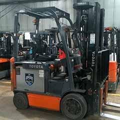 Used, 2013, Toyota Industrial Equipment, 8FBCU25, Forklifts / Lift Trucks