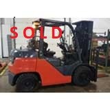 Used, 2019, Toyota Industrial Equipment, 8FG35U, Forklifts