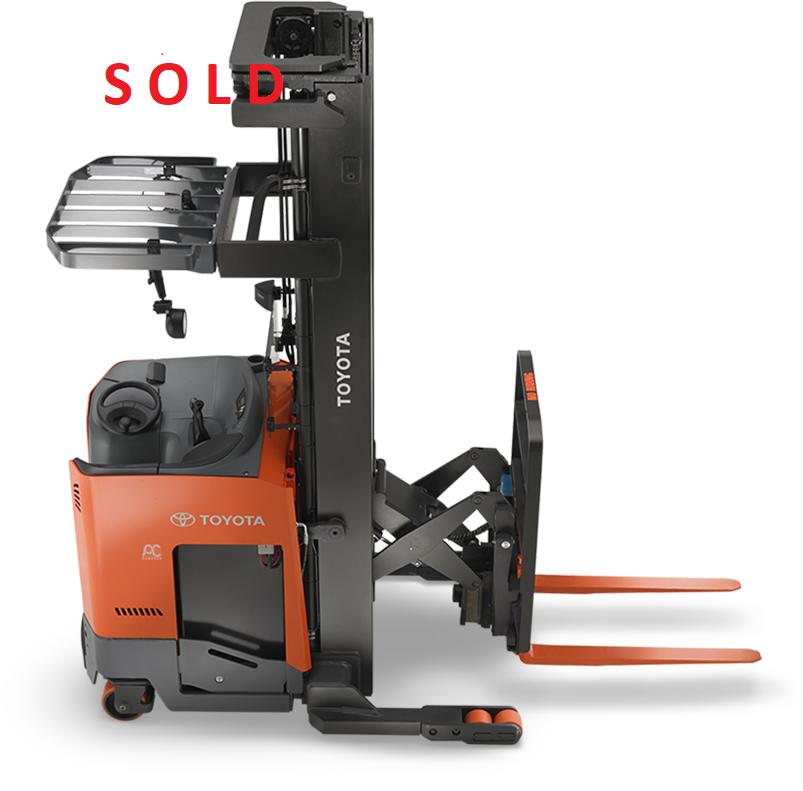 Used, 2019, Toyota Industrial Equipment, 9BRU18, Forklifts / Lift Trucks