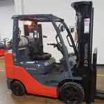 Used, 2015, Toyota Industrial Equipment, 8FGCU30, Forklifts / Lift Trucks