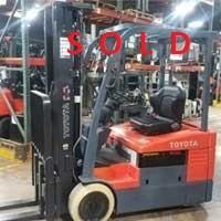 Used, 2015, Toyota Industrial Equipment, 7FBEU15, Forklifts / Lift Trucks