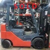 Used, 2017, Toyota Industrial Equipment, 8FGCU25, Forklifts / Lift Trucks
