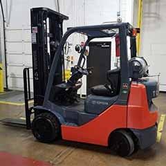 Used, 2014, Toyota Industrial Equipment, 8FGCU25, Forklifts / Lift Trucks