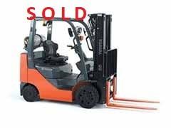 Used, 2012, Toyota Industrial Equipment, 8FGCU20, Forklifts / Lift Trucks
