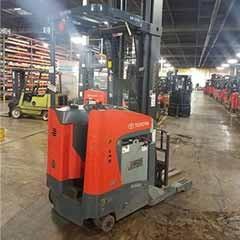 Used, 2015, Toyota Industrial Equipment, 8BRU23 Single Reach, Forklifts / Lift Trucks