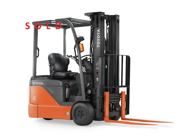 Used, 2017, Toyota Industrial Equipment, 8FBE15U, Forklifts / Lift Trucks