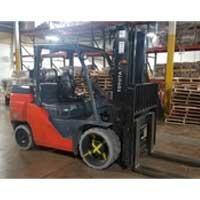 Used, 2017, Toyota Industrial Equipment, 8FGC70U, Forklifts / Lift Trucks
