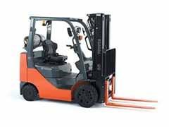 Used, 2014, Toyota Industrial Equipment, 8FGCSU20, Forklifts / Lift Trucks