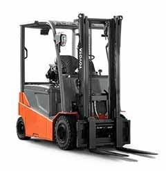 Used, 2018, Toyota Industrial Equipment, 05-8FBM25T, Forklifts / Lift Trucks