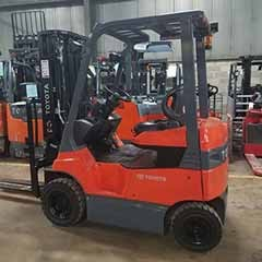 Used, 2016, Toyota Industrial Equipment, 7FBH15, Forklifts / Lift Trucks