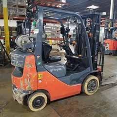 Used, 2015, Toyota Industrial Equipment, 8FGCU20, Forklifts / Lift Trucks