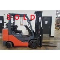 Used, 2017, Toyota Industrial Equipment, 8FGCU32, Forklifts / Lift Trucks