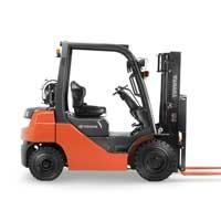 New, 2020, Toyota Industrial Equipment, 8FGU25, Forklifts / Lift Trucks