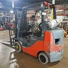 Used, 2016, Toyota Industrial Equipment, 8FGCU25, Forklifts / Lift Trucks
