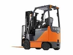 Used, 2012, Toyota Industrial Equipment, 8FBCHU25, Forklifts / Lift Trucks