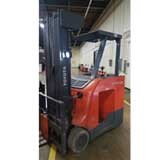 Used, 2018, Toyota Industrial Equipment, 8BNCU20-21.5, Forklifts / Lift Trucks