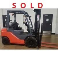 Used, 2017, Toyota Industrial Equipment, 8FGU25, Forklifts / Lift Trucks