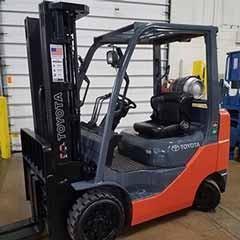 Used, 2015, Toyota Industrial Equipment, 8FGCU25, Forklifts / Lift Trucks