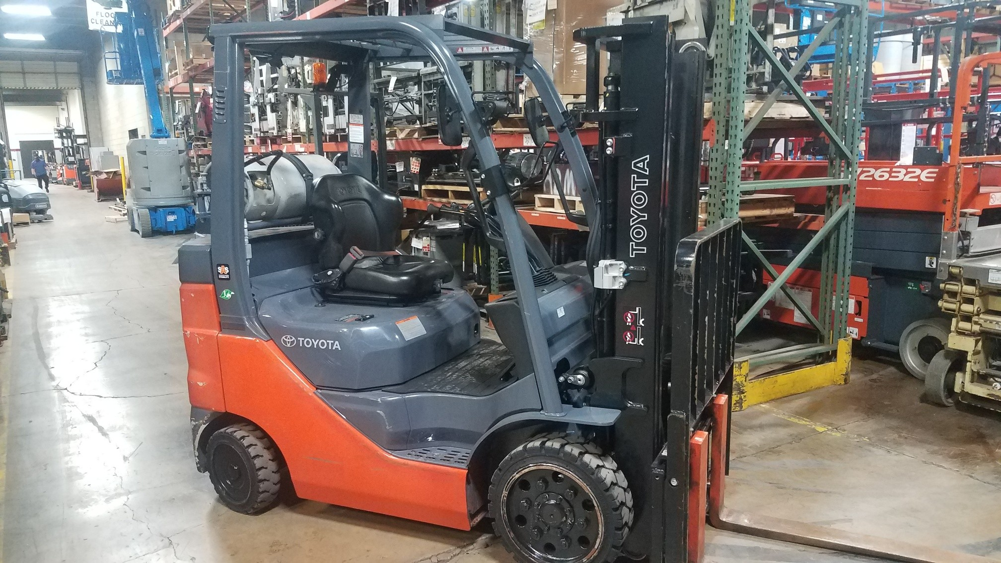 Used, 2020, Toyota Industrial Equipment, 8FGCU25, Forklifts / Lift Trucks