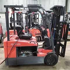 Used, 2009, Toyota Industrial Equipment, 7FBEHU18, Forklifts / Lift Trucks