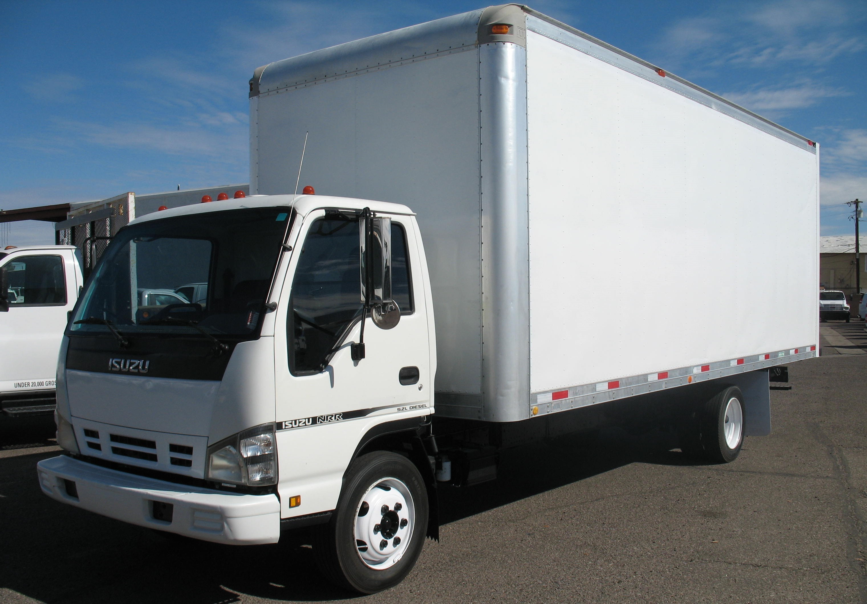 Used, 2007, Isuzu, NRR Diesel, Van Trucks