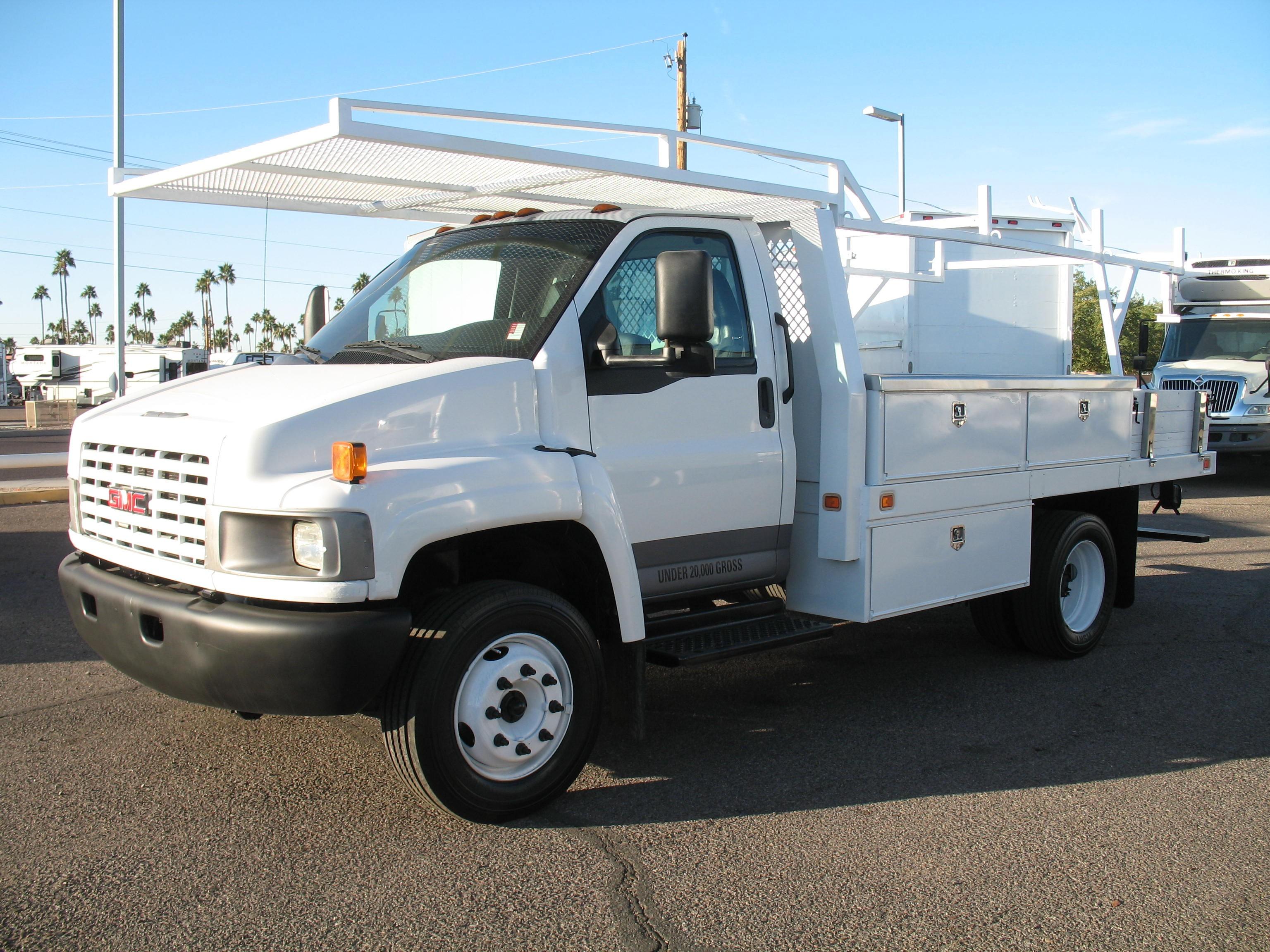 Used, 2006, GMC, C-5500 Topkick, Service / Utility Trucks