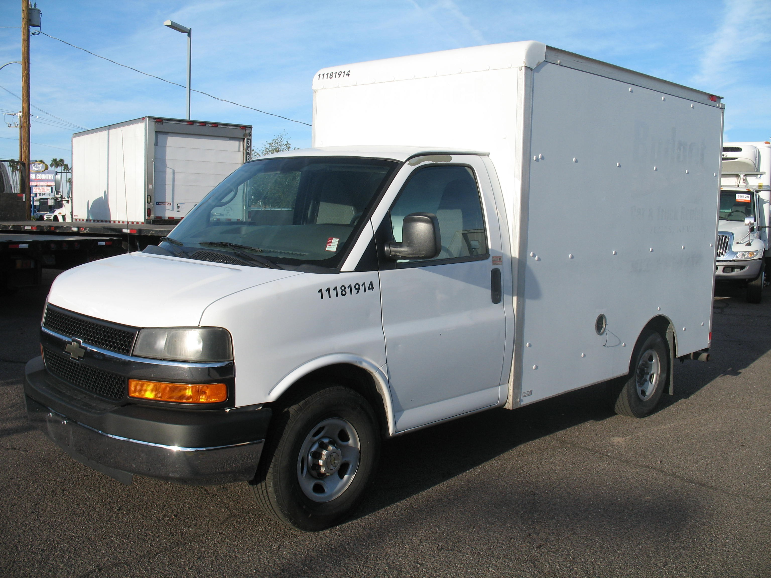 Used, 2012, Chevrolet, Express 3500, Van Trucks