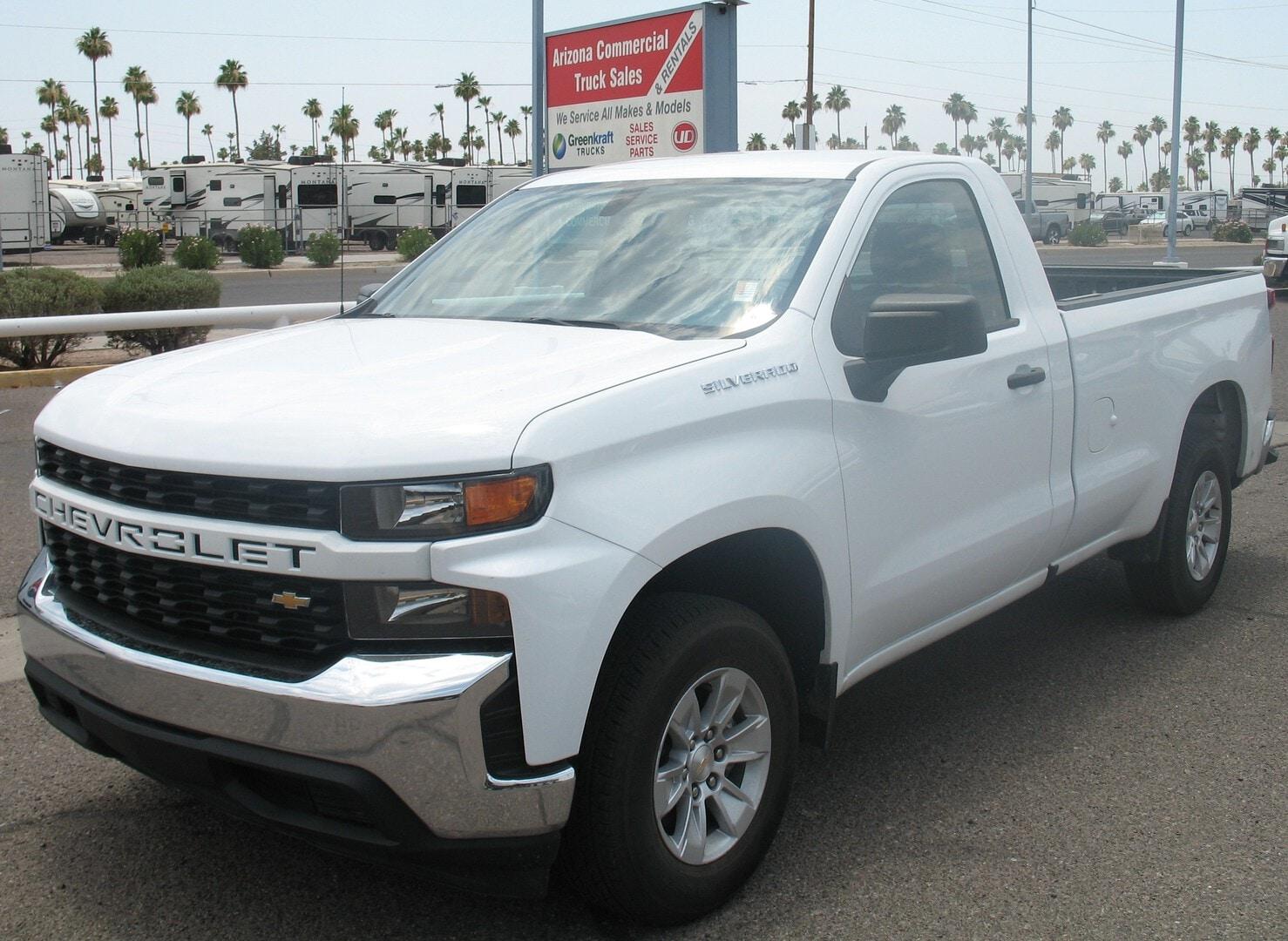 Used, 2020, Chevrolet, Silverado 1500, Pickup Trucks