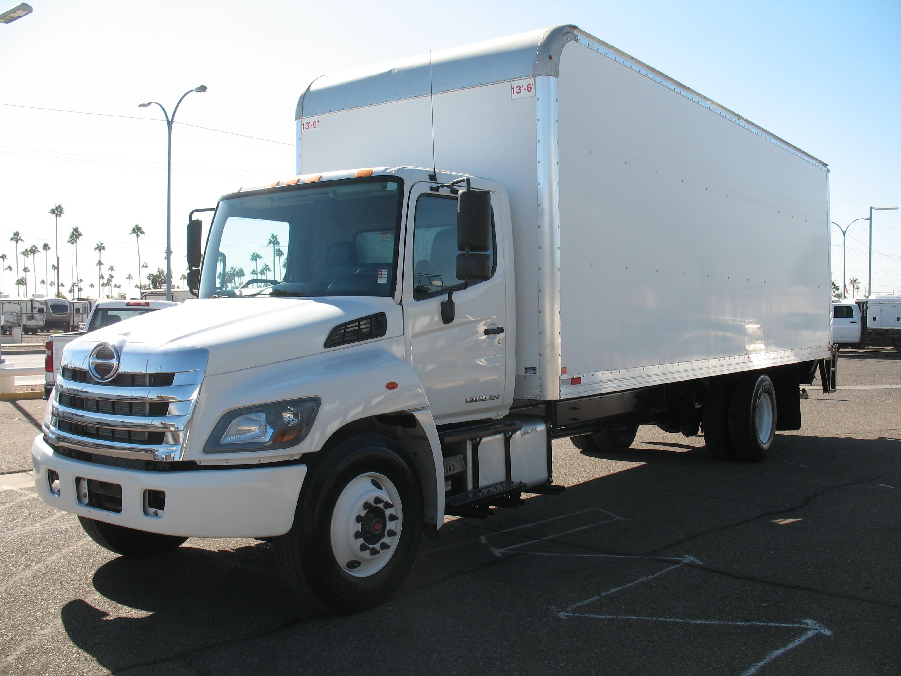 Used, 2018, Hino, 268, Van Trucks