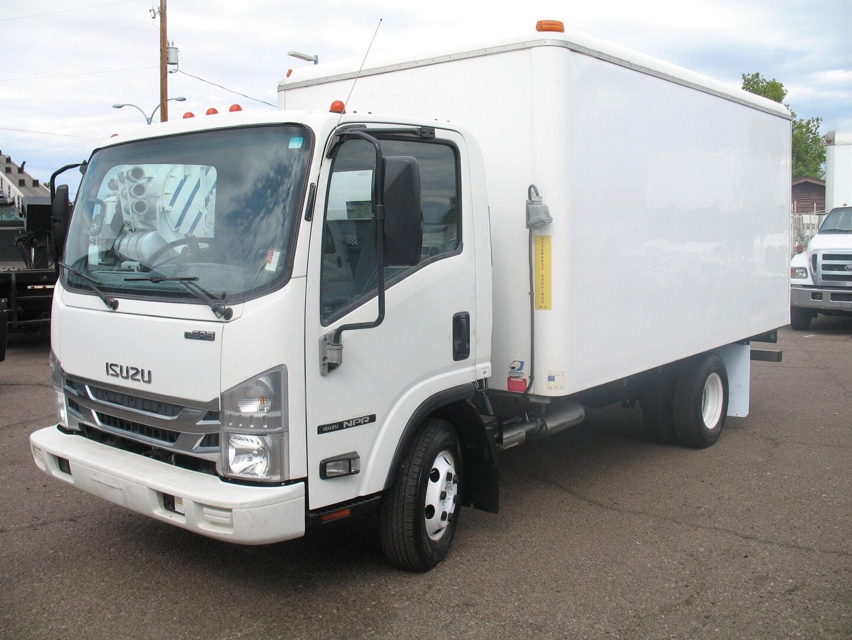 Used, 2016, Isuzu, NPR, Reefer Trucks