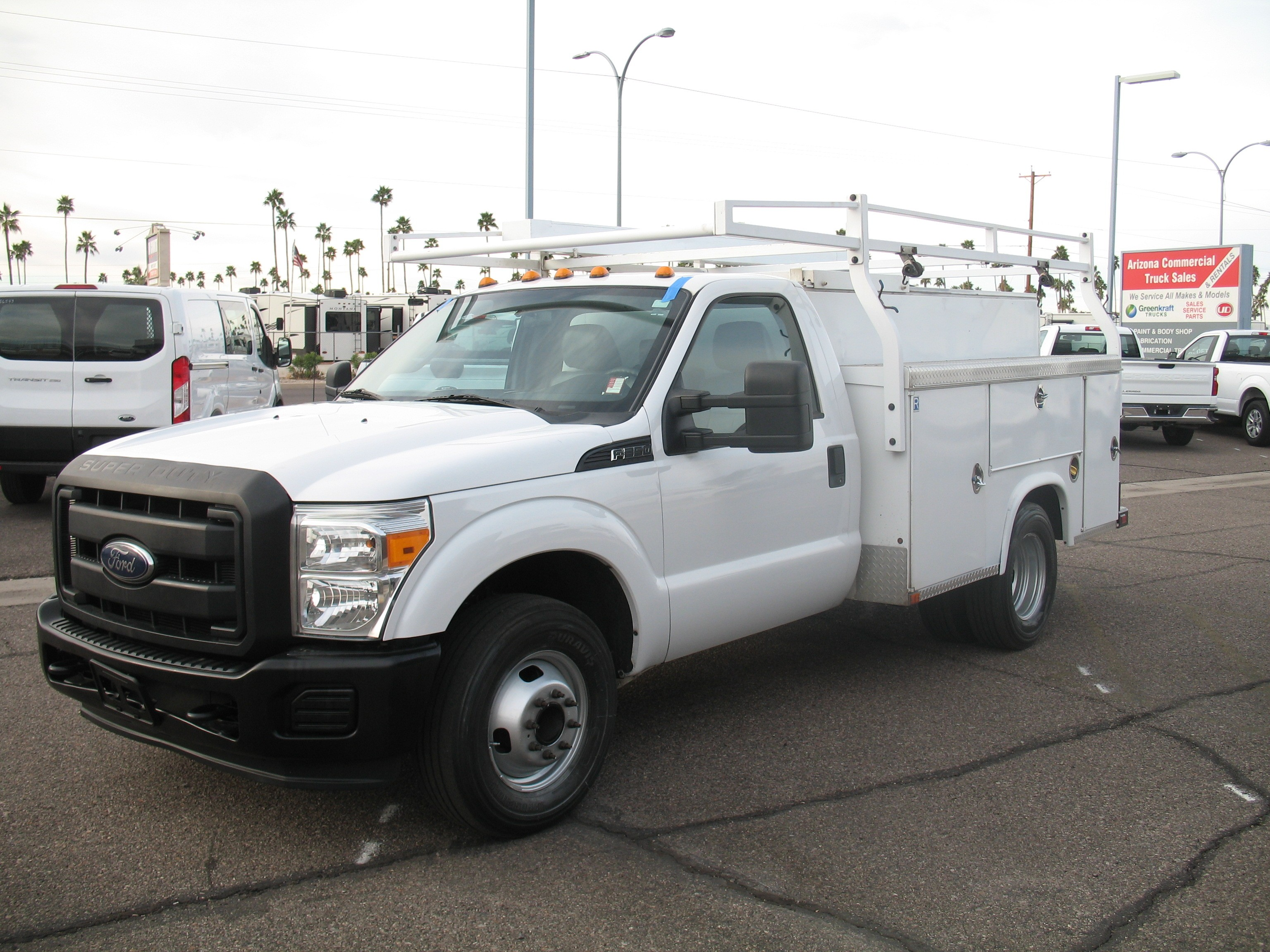 Used, 2015, Ford, F-350 SD XL, Service / Utility Trucks